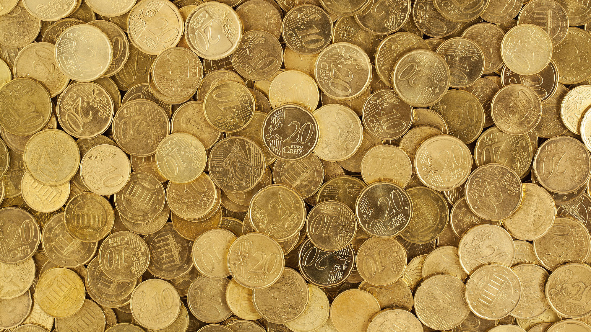 Pile of Gold Round Coins by pixabay.com